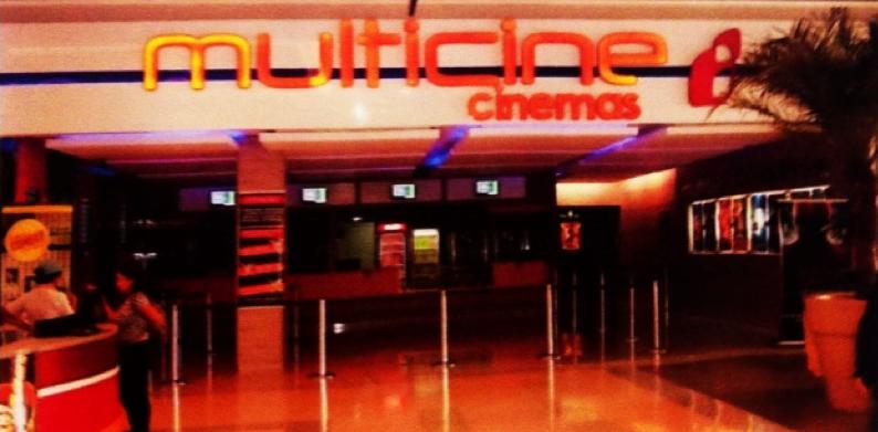 Imagem do projeto do cinema apresentado pela Multicine