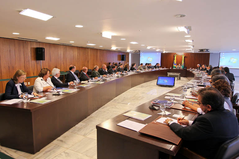 Bras'lia - DF, 14/01/2011.  Reuni‹o Ministerial. Foto Roberto Stuckert Filho.