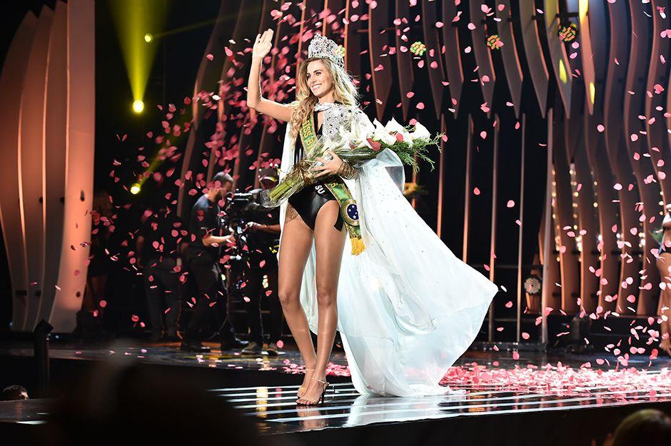 Marthina Brandt é a nova Miss Brasil - Foto: Lucas Ismael/Band