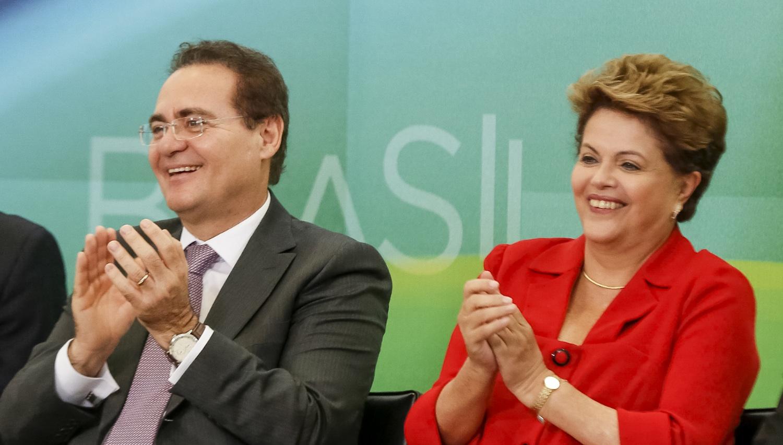 Resultado de imagem para Renan e Dilma